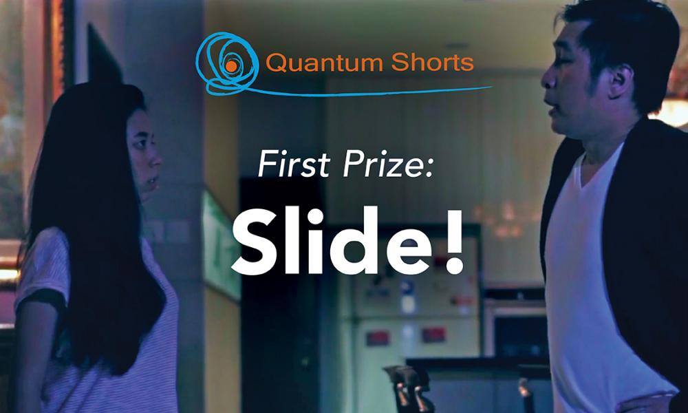 Quantum Shorts first prize winner Slide!