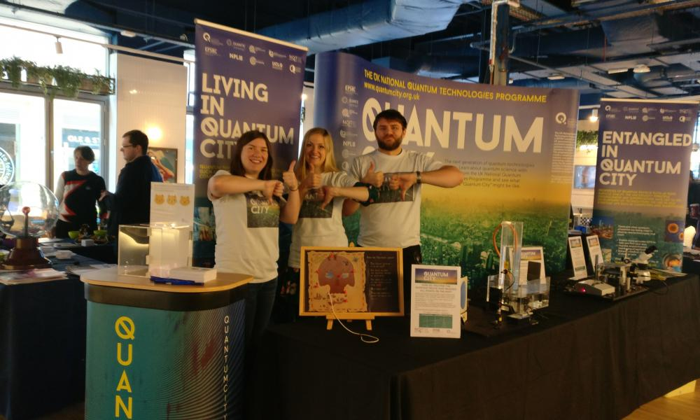 The Quantum City Team at IF Oxford